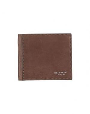 Бумажник BELSTAFF. Цвет: хаки