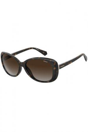 Солнцезащитные очки Polaroid. Цвет: коричневый