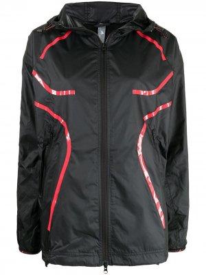 Легкая куртка с капюшоном adidas by Stella McCartney. Цвет: черный