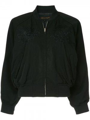Облегающая куртка-бомбер Comme Des Garçons Pre-Owned. Цвет: черный