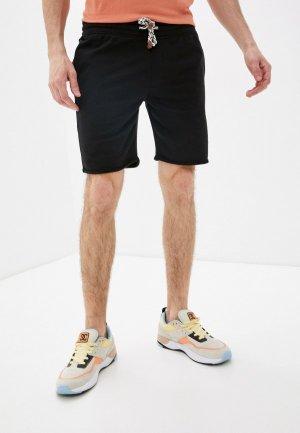Шорты спортивные Indicode Jeans. Цвет: черный