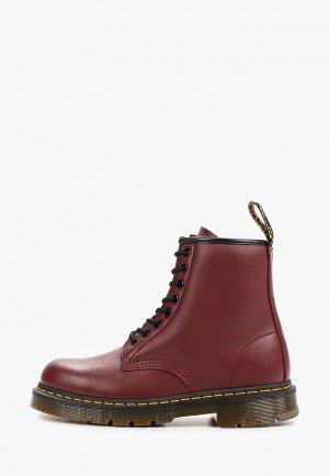 Ботинки Dr. Martens Eye Shoe. Цвет: бордовый