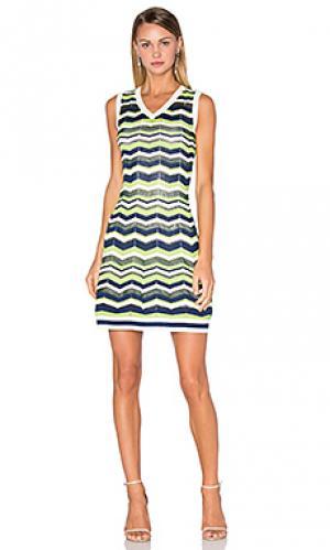 Мини платье M Missoni. Цвет: зеленый