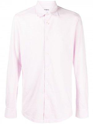 Рубашка с длинными рукавами Malo. Цвет: розовый