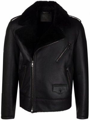 Куртка с мехом Desa 1972. Цвет: черный