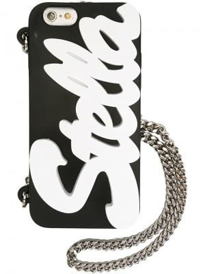 Чехол для iPhone 6 с логотипом Stella McCartney. Цвет: черный