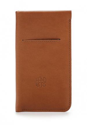 Чехол для телефона Handwers ANCON. Цвет: коричневый