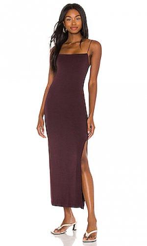 Платье Enza Costa. Цвет: вишня