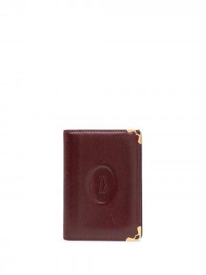 Кошелек с тисненым логотипом Cartier. Цвет: красный