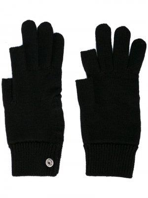 Перчатки Touchscreen Rick Owens. Цвет: черный