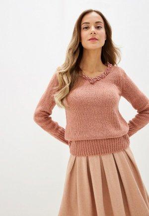 Пуловер Love Republic. Цвет: бежевый