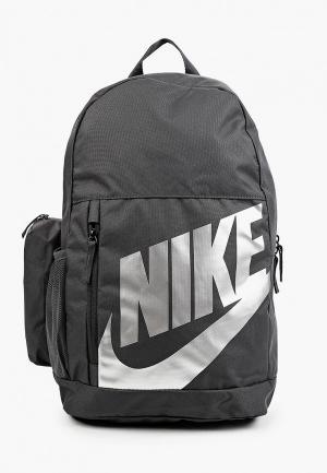 Рюкзак и пенал Nike Y NK ELMNTL BKPK - FA19. Цвет: серый