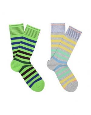 Короткие носки BURLINGTON. Цвет: кислотно-зеленый