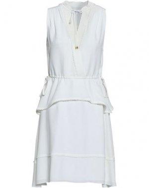 Короткое платье DEREK LAM 10 CROSBY. Цвет: слоновая кость