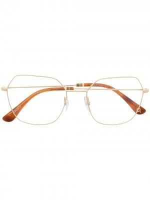 Солнцезащитные очки Oklahoma в массивной оправе Etnia Barcelona. Цвет: золотистый