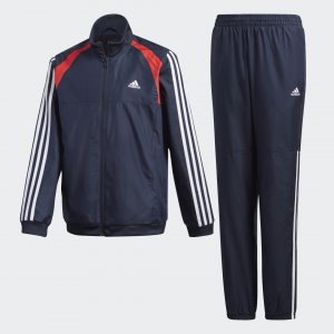 Спортивный костюм Woven Performance adidas. Цвет: белый
