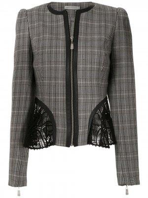 Куртка Basque Renascença Martha Medeiros. Цвет: серый