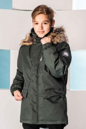 Куртка WOODY KERRY. Цвет: темно-зеленый,хаки