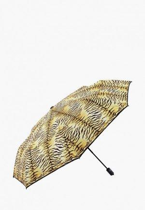 Зонт складной VOGUE. Цвет: коричневый