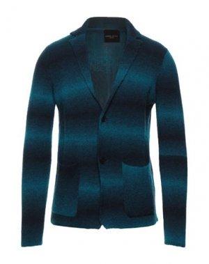 Пиджак ROBERTO COLLINA. Цвет: цвет морской волны