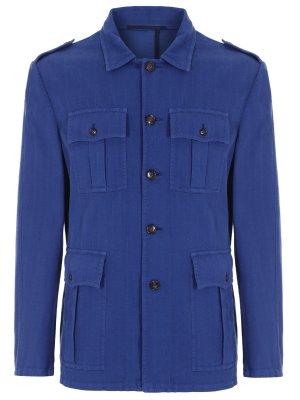 Пиджак с накладными карманами STILE LATINO