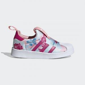 Кроссовки-слипоны Superstar 360 Originals adidas. Цвет: белый