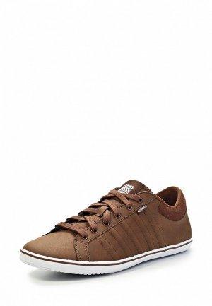 Кеды K-Swiss KS394AMHK839. Цвет: коричневый