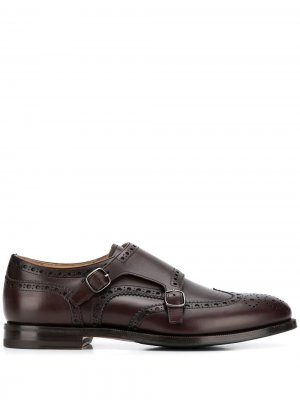 Туфли монки Alfred Scarosso. Цвет: коричневый