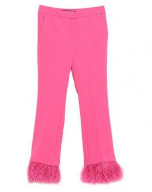 Укороченные брюки ANNARITA N. Цвет: фуксия
