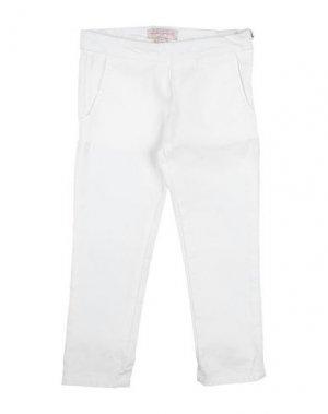 Повседневные брюки LILI GAUFRETTE. Цвет: белый
