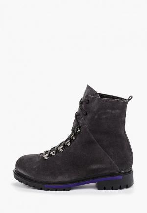 Ботинки Laura Valorosa. Цвет: серый