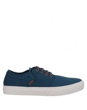 Кеды и кроссовки ETNIES. Цвет: синий