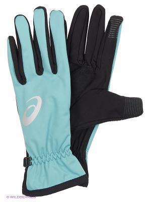Перчатки WINTER PERFORMANCE GLOVES ASICS. Цвет: голубой