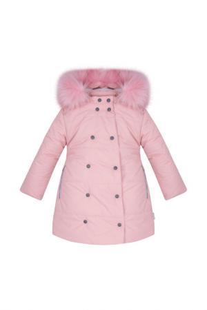 Пальто Zukka. Цвет: бордовый