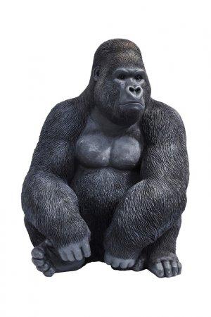 Фигура декоративная Gorilla Kare. Цвет: черный