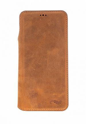 Чехол для телефона Bouletta Samsung Galaxy S9 UltimateBook. Цвет: коричневый