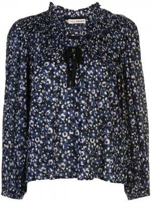 Блузка Jamila с цветочным принтом Ulla Johnson. Цвет: синий