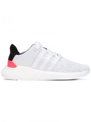 Кроссовки EQT Support 93/17 adidas. Цвет: белый