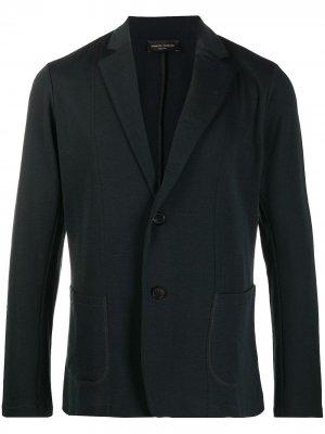 Трикотажный пиджак Roberto Collina. Цвет: зеленый
