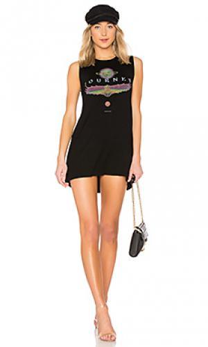 Платье-майка deanna Lauren Moshi. Цвет: черный