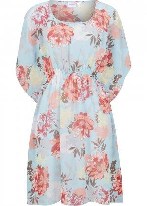Платье пляжное bonprix. Цвет: лиловый