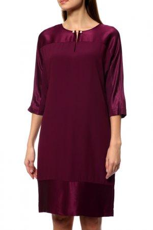 Платье Gerry Weber Taifun Separate. Цвет: elderberry