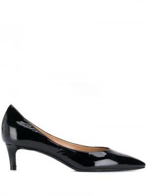 Туфли на низком каблуке Antonio Barbato. Цвет: черный