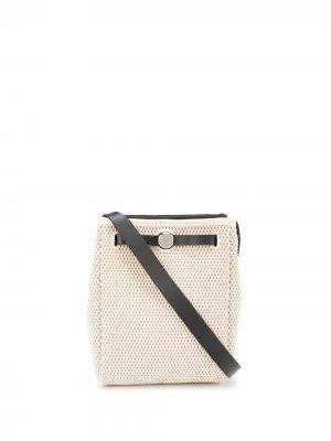 Сумка на плечо Herbag TPM pre-owned Hermès. Цвет: белый