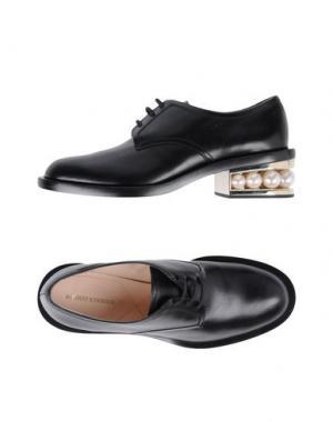 Обувь на шнурках NICHOLAS KIRKWOOD. Цвет: черный