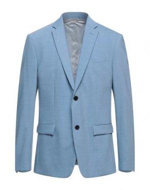 Пиджак CALVIN KLEIN. Цвет: небесно-голубой