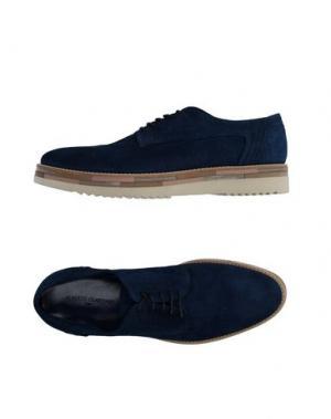 Обувь на шнурках ALBERTO GUARDIANI. Цвет: синий