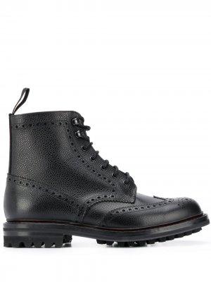 Churchs ботинки с брогированием Church's. Цвет: черный