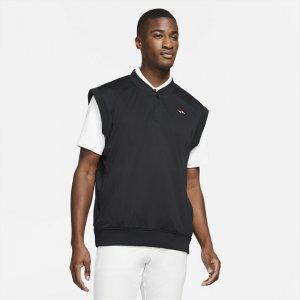 Мужской жилет для гольфа Shield Tiger Woods - Черный Nike