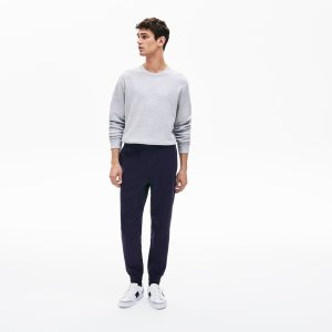 Спортивные штаны Lacoste. Цвет: темно-синий